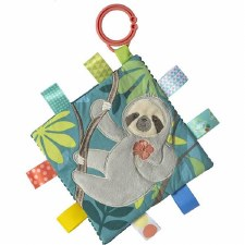 Taggies Crinkle Me Baby Toy- Molasses Sloth
