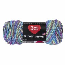 Red Heart Super Saver Yarn, Mulit-Color- Monet