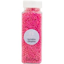 Mono Sprinkle Mix, 4.8oz- Pink