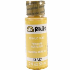 FolkArt 2 Oz. Acrylic Paint- Moon Yellow