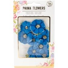Prima Flower Embellishments- Beads & Flocking- Morocco