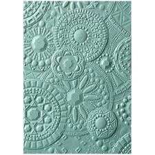 Tim Holtz 3D Embossing Folder- Mosiac Gems