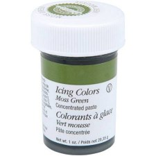 Icing Color, 1oz- Moss Green