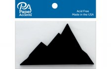 Paper Accents Chipboard- Mountain 4ct