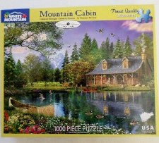 Mountain Cabin - 1000 piece puzzle