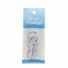 "Mug Hooks, 1.25""- 4pk"