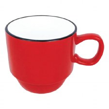Stackable Mug- Red