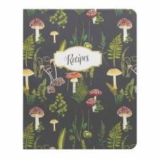CR Gibson Mushroom Botanical Recipe Notebook