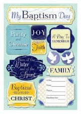 Cardstock Stickers- My Baptism