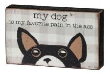 Wood Box Sign, Spunky Pets- My Favorite