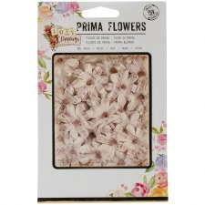 Prima Flower Embellishments- Love Clippings- My Favorite Story