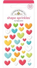 I (Heart) Travel Shape Sprinkles- My Happy Place