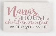 Wood Block Sign, Small- Nana's House
