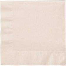 """Touch of Color 6.5"""" Napkin- Ivory"""