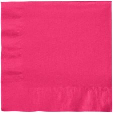 """Touch of Color 6.5"""" Napkin- Hot Magenta"""