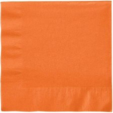 """Touch of Color 6.5"""" Napkin- Sunkissed Orange"""
