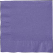 """Touch of Color 6.5"""" Napkin- Purple"""