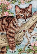 Dimensions Cross Stitch Kit- Napping Kitten