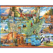 National Parks - 1,000 Piece Puzzle