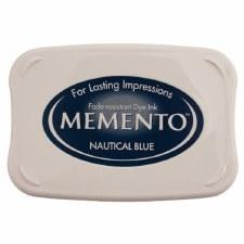 Memento Dye Ink Pad- Nautical Blue