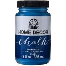 FolkArt Home Decor Chalk Paint 8 oz- Nautical