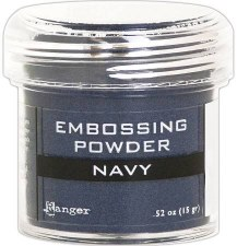Embossing Powder- Navy Metallic