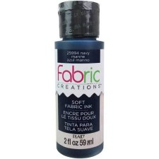 Fabric Creations 2oz Fabric Paint- Navy