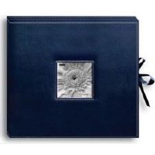 Pioneer Leatherette Album Box- Navy