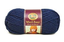 Wool Ease Thick & Quick Yarn- Navy