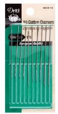 Cotton Darners Hand Needles, 1/5- 10ct