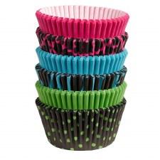 Baking Cups, 150ct- Neon Darks