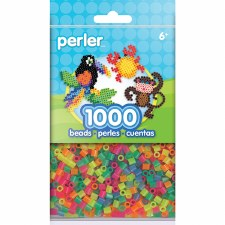Perler Beads 1000 piece- Neon Mix