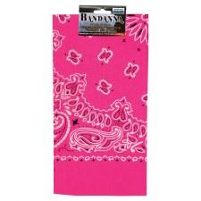 Neon Paisley Pink 1/8 Fold