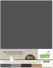 Lawn Fawn Cardstock Pack Assortment- Neutrals