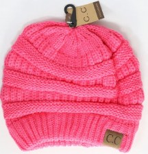 CC Knit Beanie- New Candy Pink