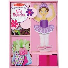 Melissa & Doug Magnetic Dress Up- Nina Ballerina