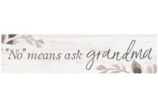 Skinny & Small Wood Sign- Grandma