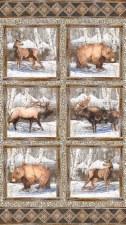 Nature & Wildlife Fabric Panel- North Ridge