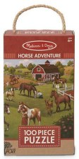 Natural Play Jigsaw Puzzle, 100pc- Horse Adventure