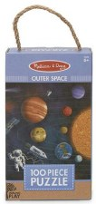Natural Play Jigsaw Puzzle, 100pc- Outer Space