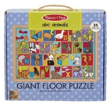 Natural Play Giant Floor Puzzle- ABC Animals