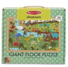 Natural Play Giant Floor Puzzle- Dinosaurs