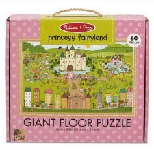 Natural Play Giant Floor Puzzle- Princess Fairyland