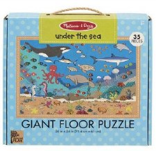 Natural Play Giant Floor Puzzle- Under the Sea