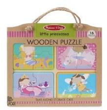 Natural Play Wooden Puzzle- Little Princesses