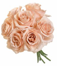 Ashley Rose Wedding Bouquet- Nude