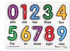 Melissa & Doug See Inside Peg Puzzle- Numbers