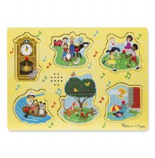 Melissa & Doug Sound Puzzle- Nursery Rhymes 1