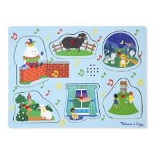 Melissa & Doug Sound Puzzle- Nursery Rhymes 2
