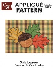 Applique Pattern- Oak Leaves